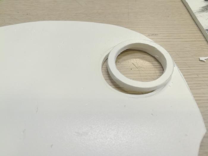 Ночник-водолаз (трехболтовка) часть 2 Папье-Маше, Водолаз, Трехболтовка, Своими руками, Рукоделие с процессом, Длиннопост