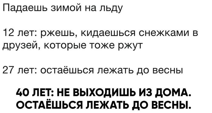 Я остаюсь лежать до весны :) Картинка с текстом, Весна, Скользко, Зима, Лёд