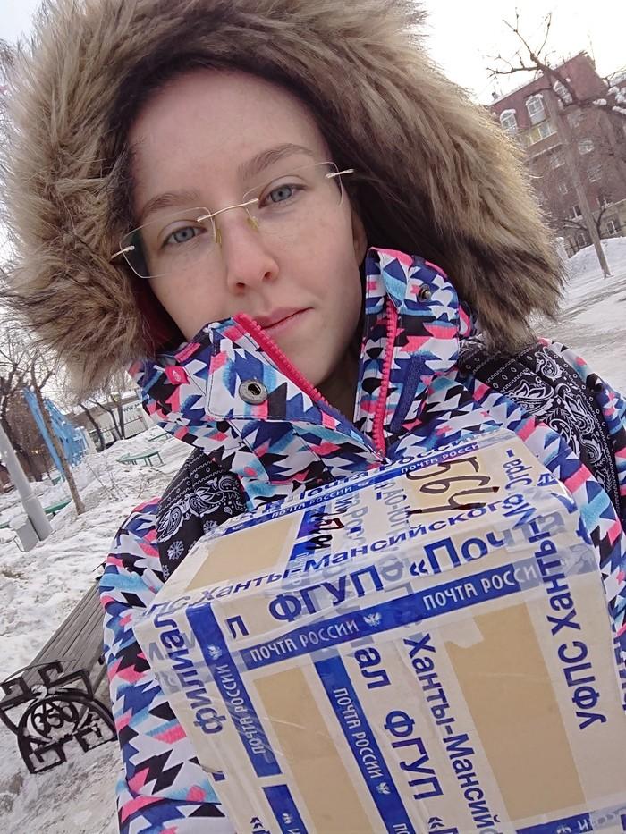 Нижневартовск - Иркутск (ответочка) Обмен подарками, Длиннопост, Вкусняшки