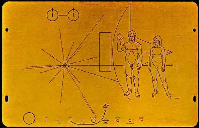 Просто напомню, первое что увидят инопланетяне о нас, это два нудиста и наш адрес.