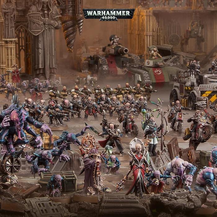 Свежие новинки для Генокрадов! Warhammer 40k, Genestealers, Games Workshop, Wh News, Wh miniatures, Длиннопост