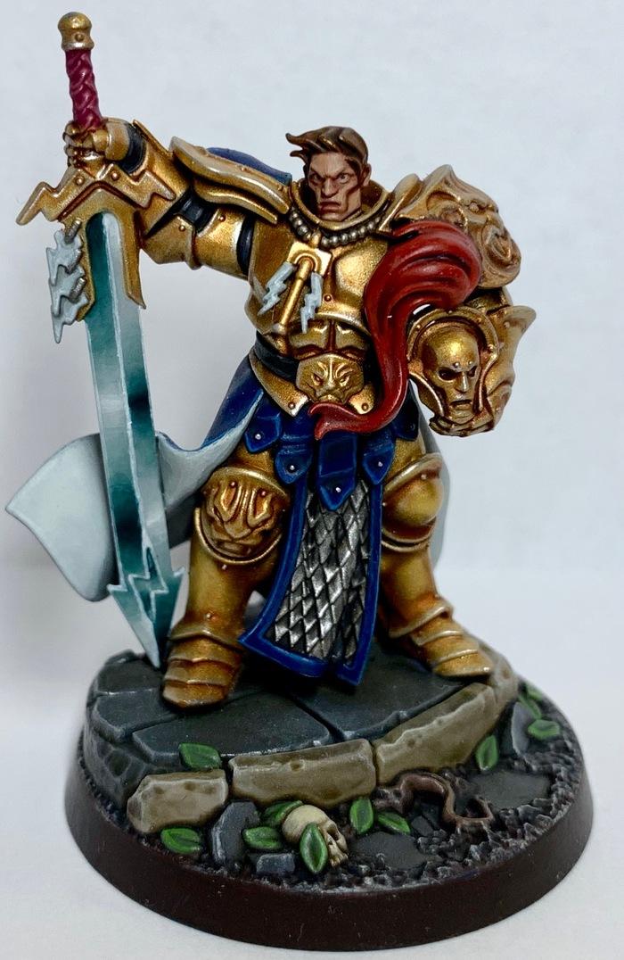Warhammer Underworlds: Shadespire. Severin Steelheart Warhammer, Miniatures painting, Хобби, Покраска миниатюр, Фотография, Warhammer: Age of Sigmar, Wh Miniatures