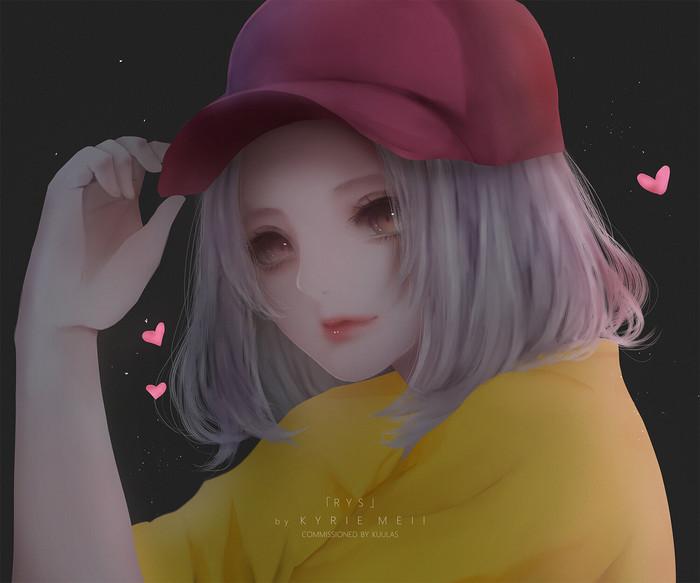 ByKyrie Meii Kyrie Meii, Арт, Рисунок, Anime Art