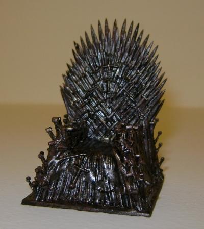 Фотополимерный 3d принтер и всякая всячина на нём Длиннопост, 3D печать, Anycubic, Ведьмак, Игра престолов, 3D принтер, Железный трон, Замок
