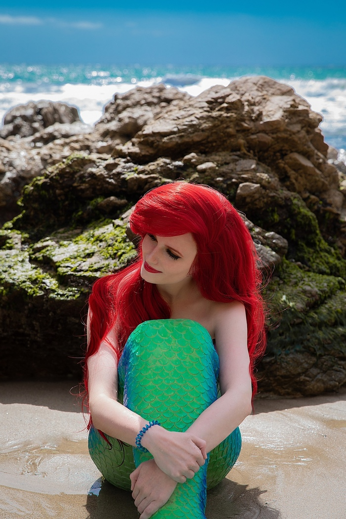 The Little Mermaid - Ariel by Claire Sea. Русалочка, The Little Mermaid, Фотография, Малибу, Косплей, Длиннопост, Дисней