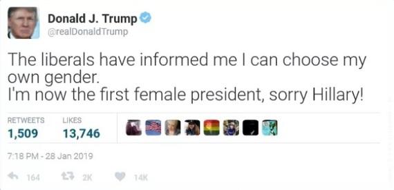 А че так можно было? Пол, Либералы, Гендер, Трамп, Перевод, Twitter, Фейк, 9GAG