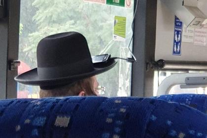 Немного неортодоксально, зато работает Ортодоксальные евреи, Телефон, Мобильные телефоны, Автобус, Зарядка