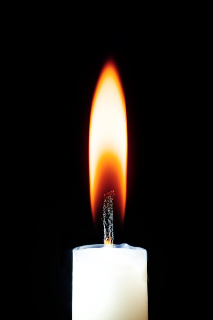 Свеча и макрокольца Фотография, Макросъемка, Свеча, Длиннопост
