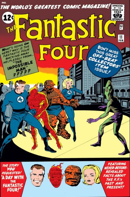 Погружаемся в комиксы: Fantastic Four #11-20 Супергерои, Marvel, Фантастическая четвёрка, Комиксы-Канон, Длиннопост