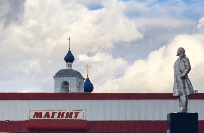 Три в одном. Ленин, Магнит, Церковь