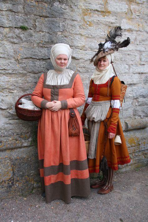 Фройляйн за гульден.Девочки из обоза ланскнехтов. Ренессанс, Германия, Длиннопост, Ландскнехты