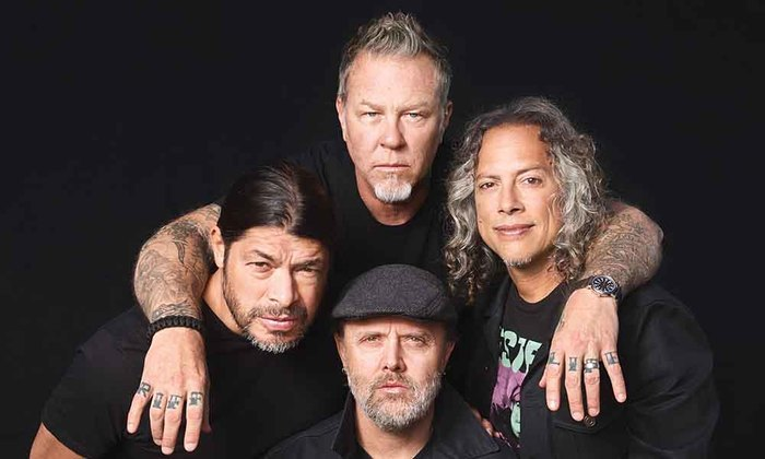 METALLICA Рок, Металл, Metallica