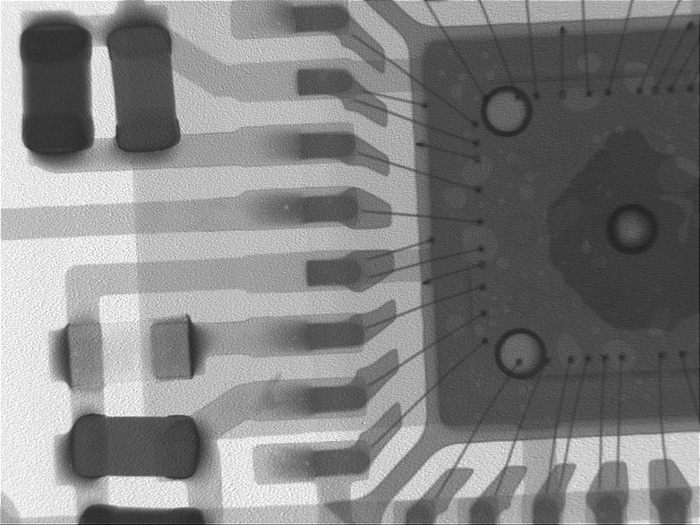 РентгенBGA и QFN микросхем на установке Dage XD7500 Рентген, Bga, Пайка, Smd, Длиннопост