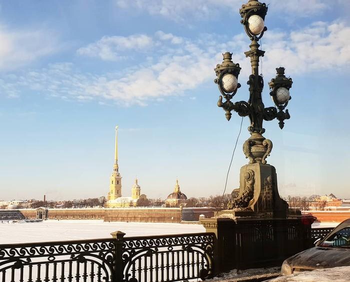 Зимнее солнце в СПб