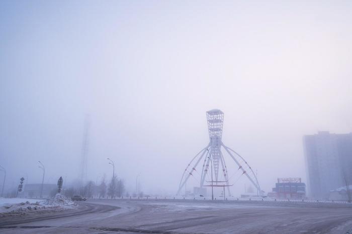 Пришельцы в городе. Мороз, Туман, Пришельцы, Нижневартовск