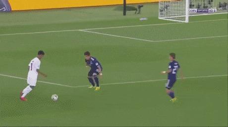 Красивый гол Катара в финале кубка Азии