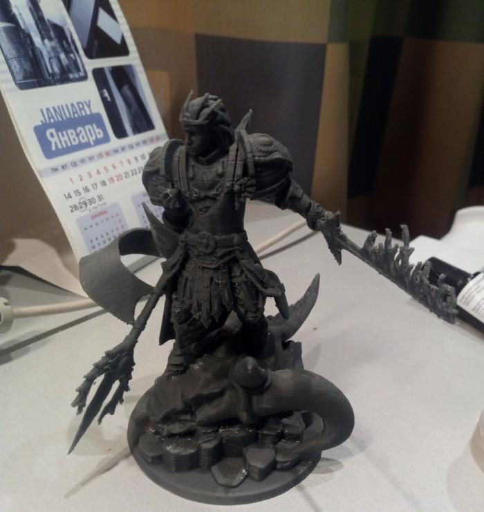 Печать миниатюры) Пробная печать, 3D печать, Миниатюра, Длиннопост, Wh miniatures