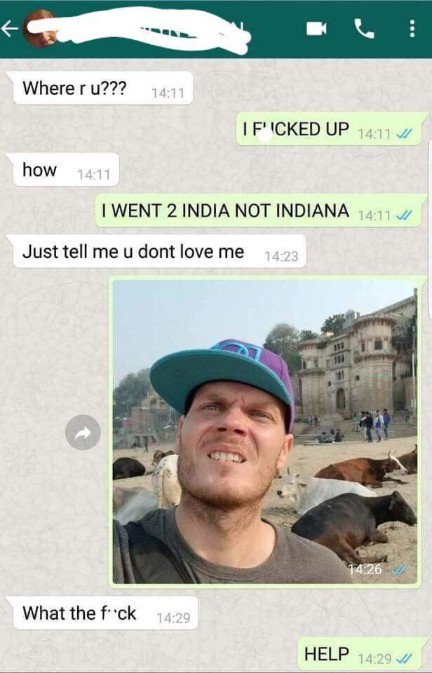 Помоги Whatsapp, Диалог, Переписка, Индия
