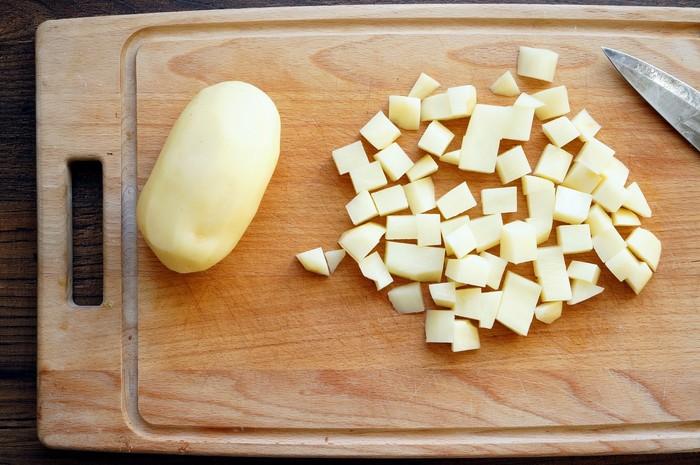 Душу вложил Еда, Жареная картошка, Приготовление, Критика