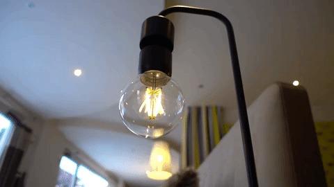 Levia – потрясающая лампа с левитирующим светом Лампа, Лампочка, Светильник, Гаджеты, Kickstarter, Интерье, Для дома, Высокие технологии, Гифка, Видео, Длиннопост