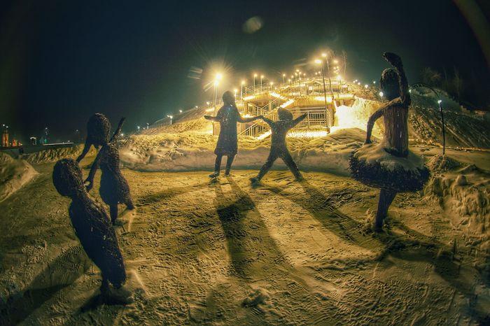 Ночная прогулка Фотография, Ночь, Город, Эстетика ебеней, Барнаул, Длиннопост
