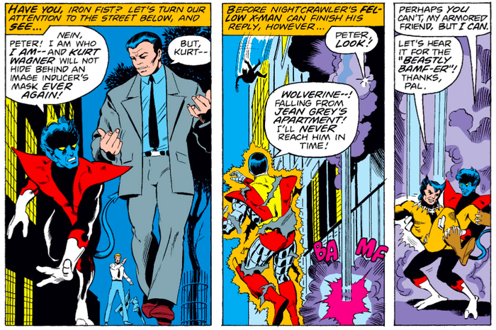 Супергеройские способности: Найткроулер Супергерои, Marvel, Курт Вагнер, Люди Икс, Комиксы-Канон, Длиннопост