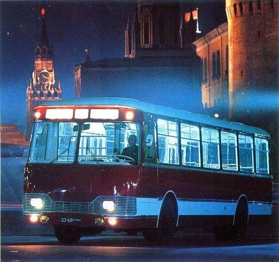 """Легенда. Автобус """"ЛиАЗ-677"""" [Не Прислоняться] Лиаз, СССР, Автобус, Легенда, Луноход, Ностальгия, История, Длиннопост"""