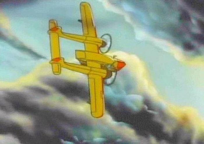 Легендарный самолёт лучшего в мире аса! Чудеса на виражах, Дизельпанк, Обзор, Самолет, Гражданская авиация, Ностальгия, Гифка, Видео, Длиннопост