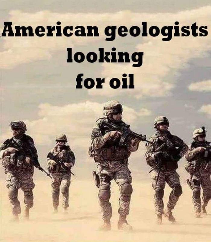 Американские геологи ищут нефть