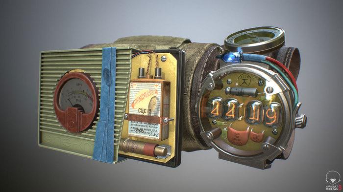 """Часы из игры """"Metro: Exodus"""" своими руками"""
