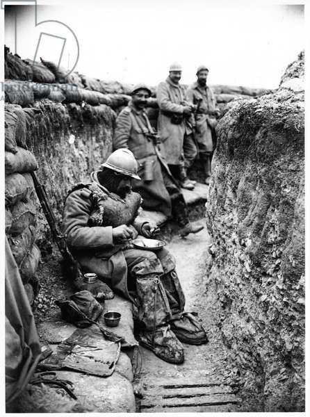 В окопах первой мировой История в фотографиях, Первая мировая война, Окопная жизнь, Длиннопост