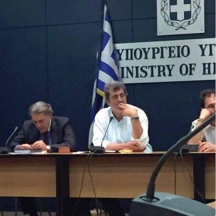 Против системы Греция, Курильщики, Курение, Борьба с курением, Конференция, Здравоохранение