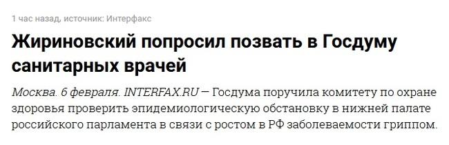 А я уж, было, понадеялся... Жириновский, Госдума, Политика, Мастер заголовков