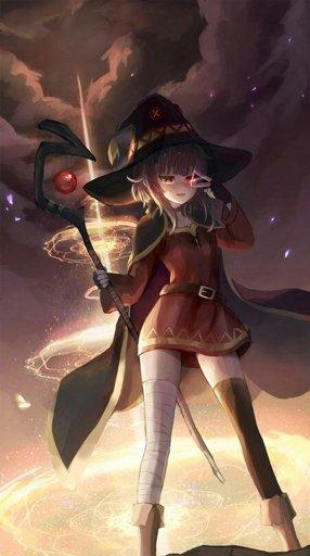 Билд: Мегумин из Алых Мазуку Dnd 5, Anime Art, Билд, Видео, Длиннопост