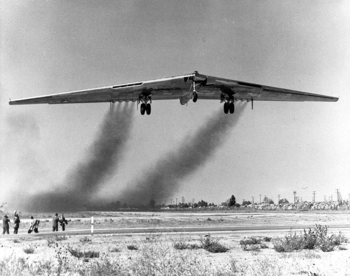 Northrop XB-35.Самолет опередивший время. Американские самолеты, Летающее крыло, Xb-35, Длиннопост