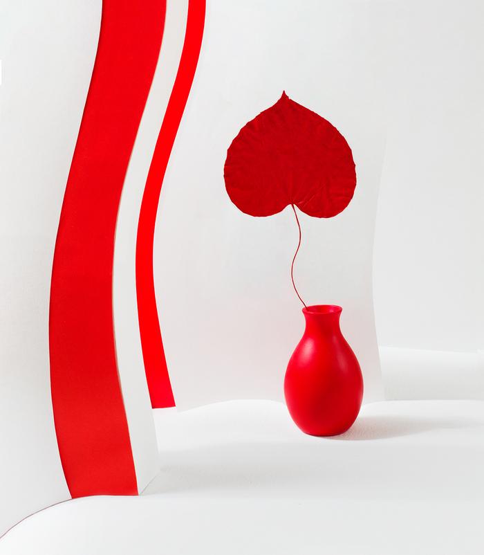 In red mood / Цвет настроения красный