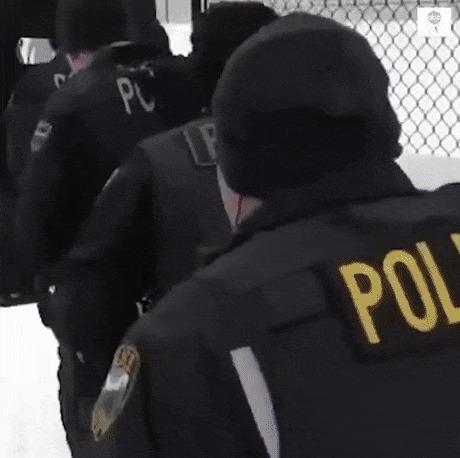 Полицейский штурм