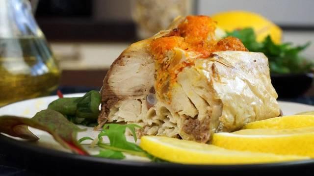 Скумбрия в духовке с овощами С дедом за обедом, Еда, Рецепт, Скумбрия, Вкусно, Кулинария, Видео, Длиннопост