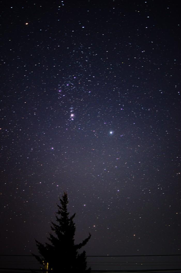 Попытка в звёздное небо номер 2 Начинающий фотограф, Фотография, Небо, Nikon, Звездное небо, Длиннопост
