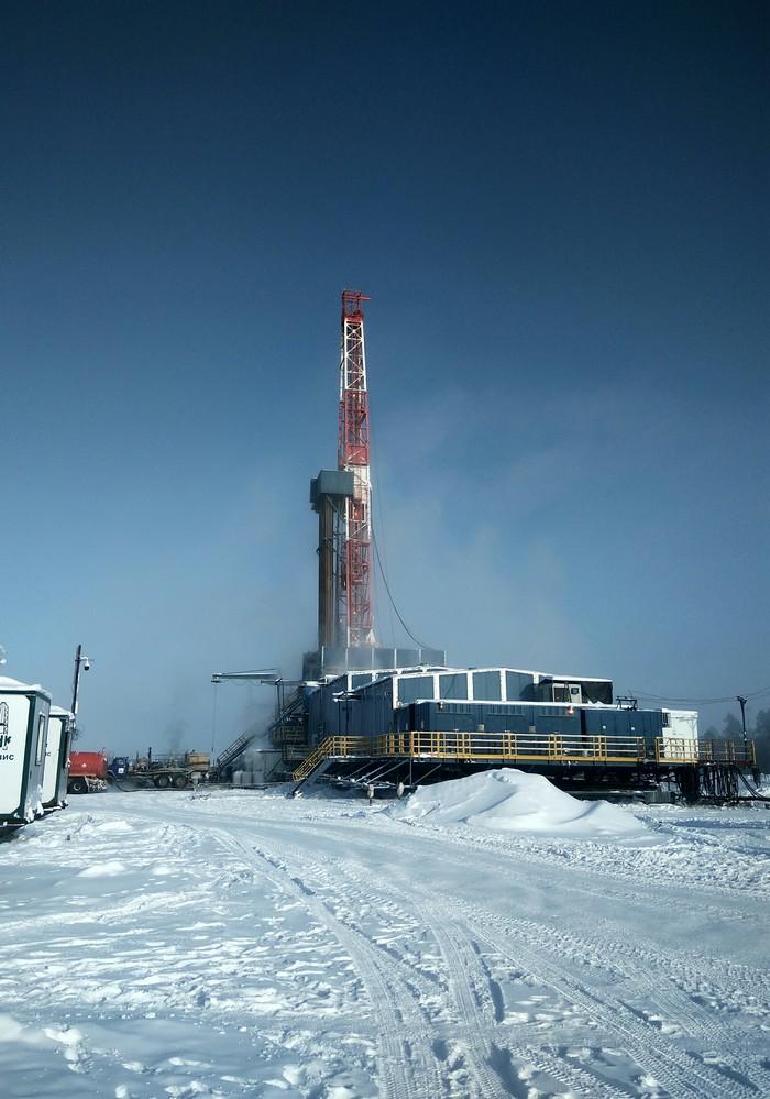 ZJ-40 DBS Бурение скважин, Работа, Север