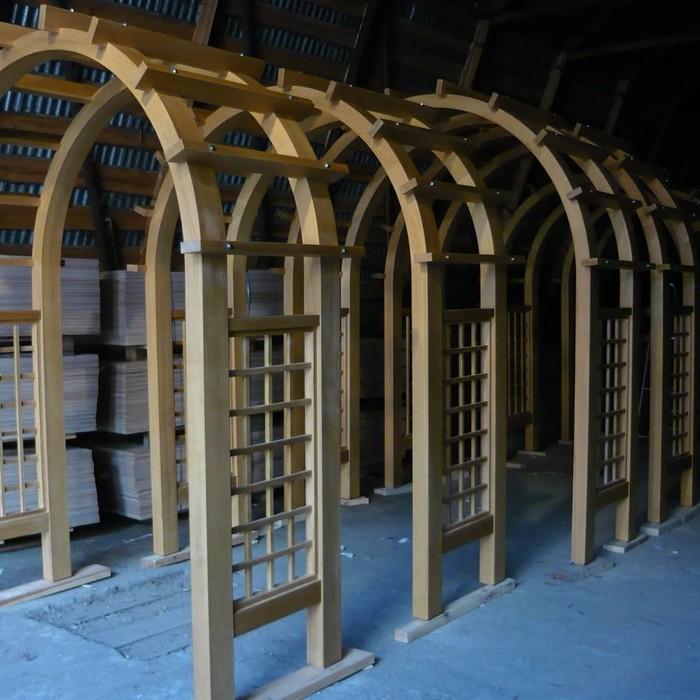 Декоративный забор (Массив кедра) Забор, Декор, Ландшафт, Дерево, Работа с деревом, Столярка, Длиннопост