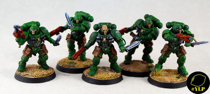 Dark Angels Reivers Wh Miniatures, Warhammer 40k, Warhammer, Primaris Space Marines, Длиннопост