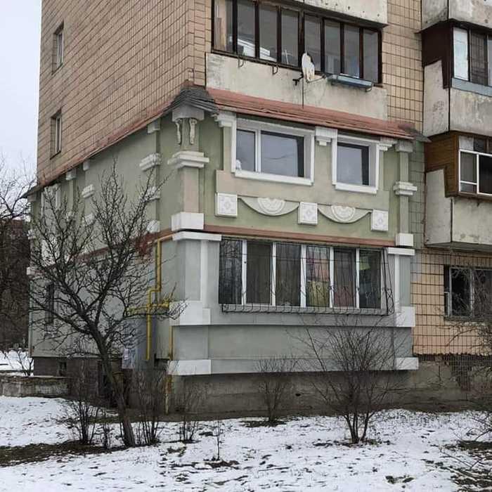 Барокко или рококо? Утепление пенопластом, Киев, Борщаговка, Версаль, Барокко, Рококо, Ужас, Картинки