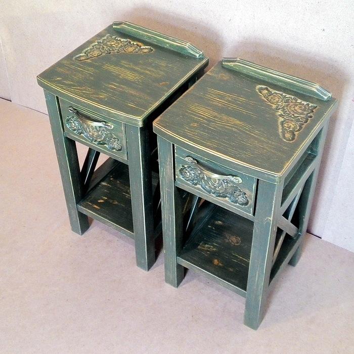 Маленькие прикроватные тумбочки Тумба, Тумбочка, Прикроватная тумбочка, Тумба из массива, Деревянная мебель, Длиннопост