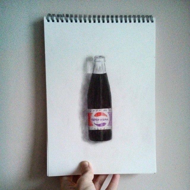 Моя попытка в реализме Реализм, Рисунок карандашом, Цветные карандаши, Длиннопост, Рисунок