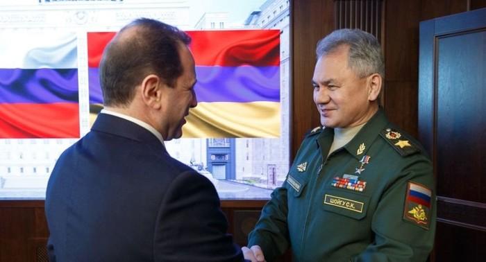 Министр обороны Армении посетил Москву и ЮВО Политика, Армения, Россия, Вооруженные силы, Длиннопост