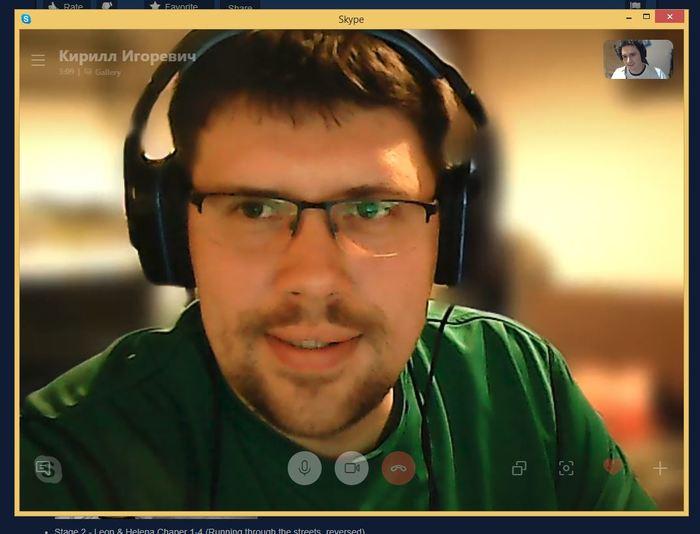 Skype научили размывать задний фон. Skype, Технологии, Обновление