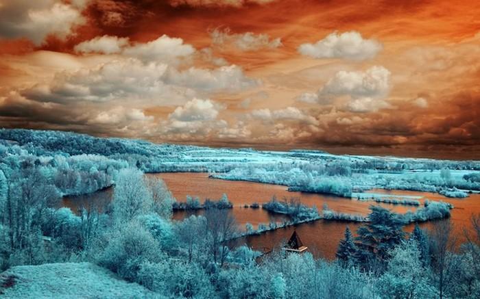 Работы Давида Кеочкеряна Фотография, Подборка, Инфракрасная съёмка, Пейзаж, Длиннопост