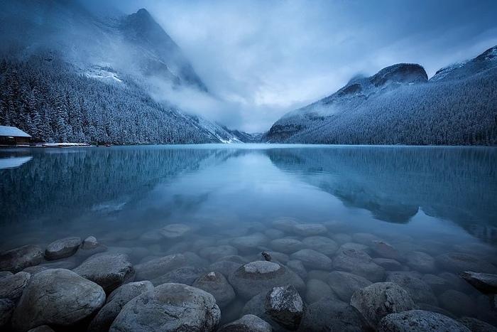 Озеро Луиза, Национальный парк Банф, Альберта, Канада
