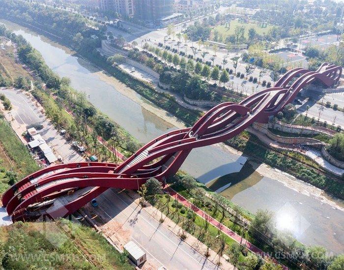 Вот такой мост есть в Китае